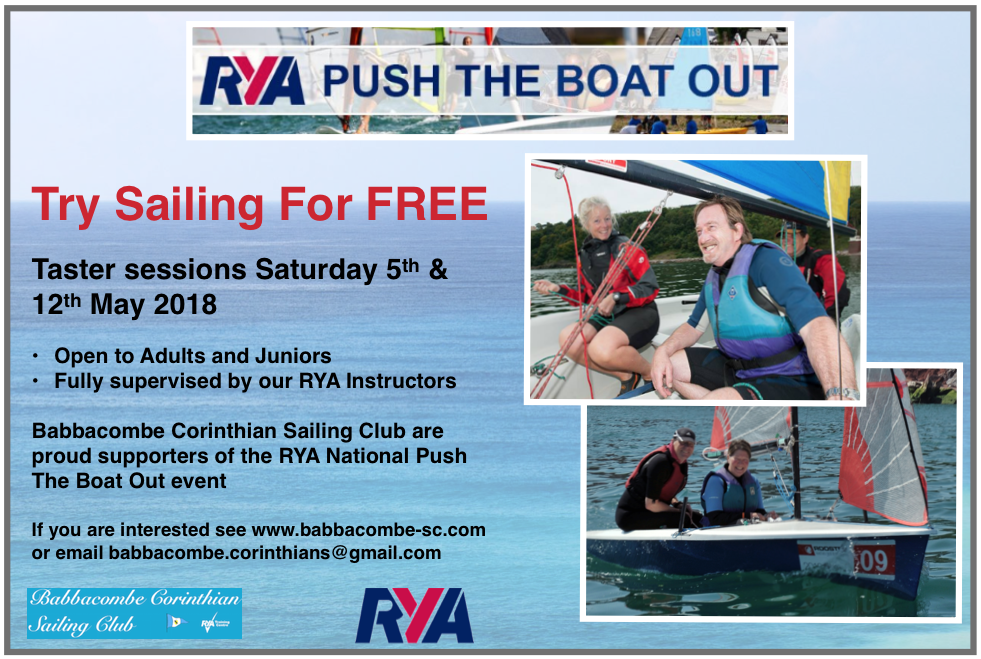 RYA Push the Boat Out 2018
