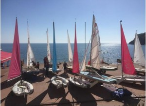 Sailing in Torquay
