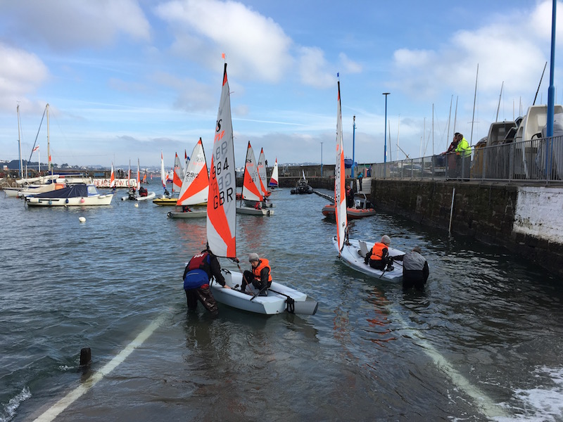 Babbacombe Sailing Club in Torquay