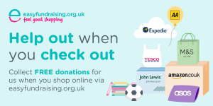 Help us every time you shop with easyFundraising