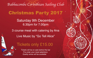 Christmas Party 9th Dec