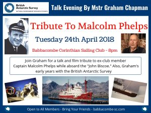 British Antarctic Talk by Graham Chapman