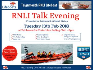 RNLI Evening Talk
