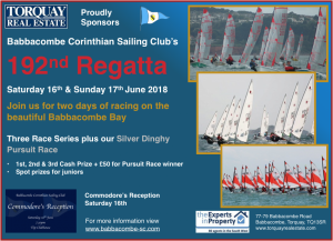 192nd Babbacombe Regatta – 16/17 June