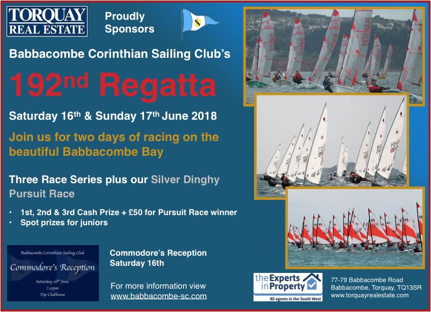 Babbacombe 2018 Regatta