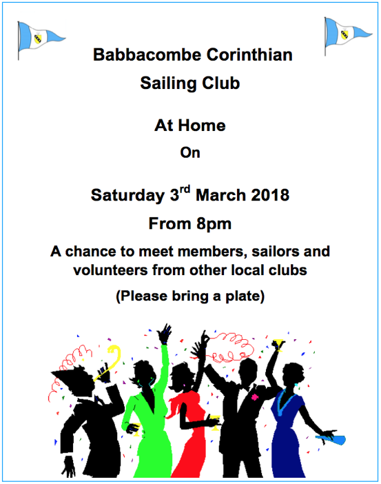 BCSC At Home 3rd March – All Welcome