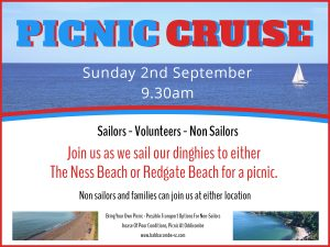 Picnic Cruise Sunday 2nd Sept