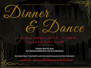 Dinner & Dance – 17th November