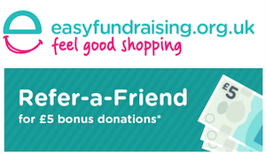 Help us bag an EXTRA £5 Referral
