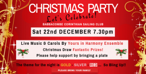 Christmas Party – Sat 22nd December