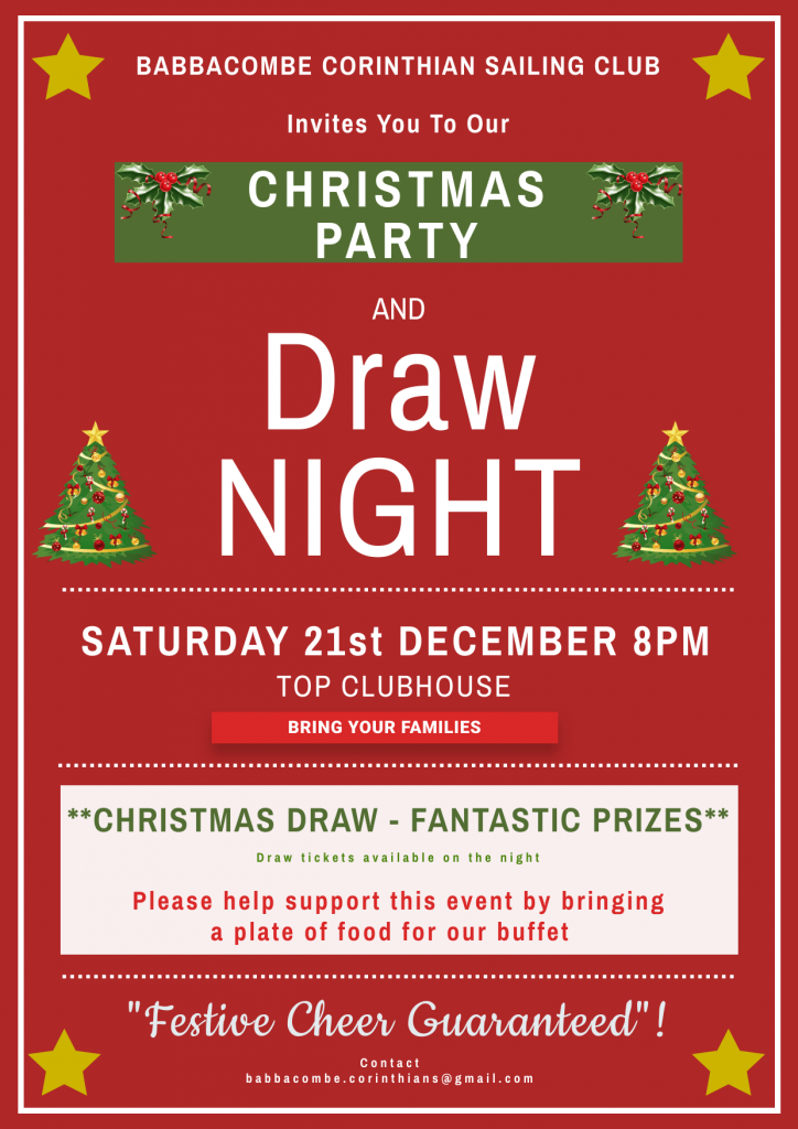 Christmas Draw and Party