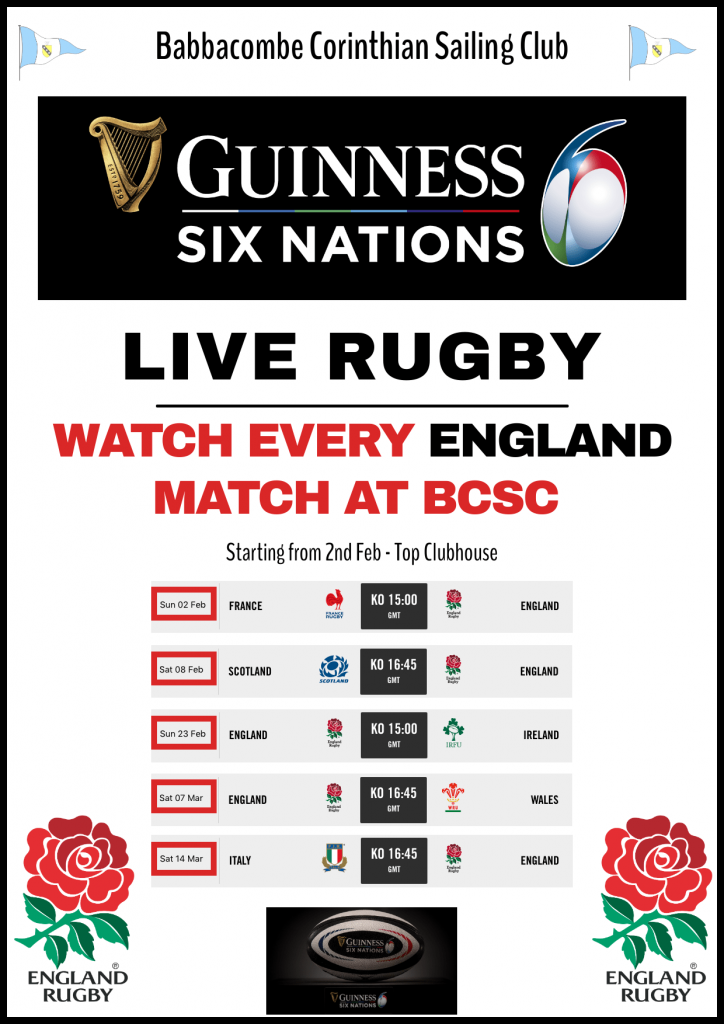 6 Nations Rugby Live at Babbacombe