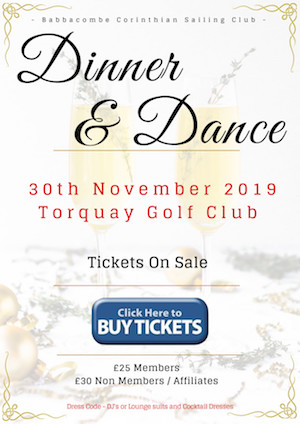 Dinner and Dance 30th November