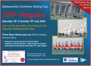 Babbacombe Regatta 18/19 July